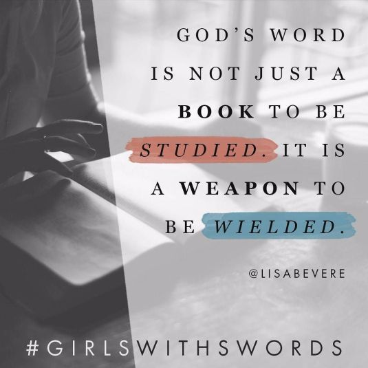 LISA BEVERE sword of the Spirit