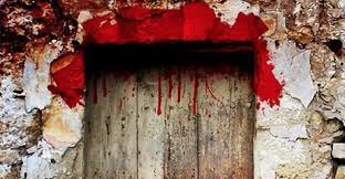 Lamb's Blood on the lintel